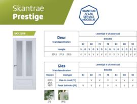 Skantrae Prestige SKS 2208 Facet Satinato glas