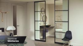 Skantrae SlimSeries Ultra Zwarte Binnendeur SSL 4102