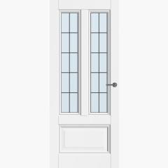 CanDo binnendeur Traditional Muiden met glas-in-lood 10-ruits