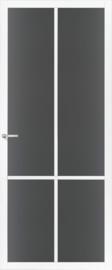 Skantrae SlimSeries witte Binnendeur SSL 4408 Rookglas