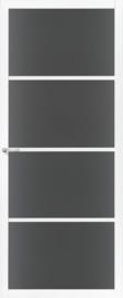 Skantrae SlimSeries witte Binnendeur SSL 4404 Rookglas