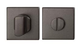 toiletgarnituur 50x50x8 mm stift 8 mm Dark blend