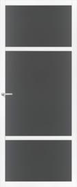Skantrae SlimSeries witte Binnendeur SSL 4426 Rookglas