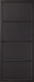 Skantrae SlimSeries Zwarte Binnendeur SSL 4084 paneeldeur