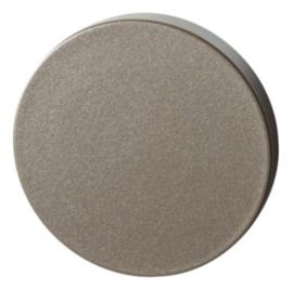 Blinde rozet 50x6 mm Mocca blend
