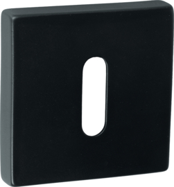 Sleutelrozet Vierkant Mat Zwart - ID 1103