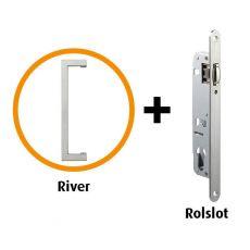 Handgreep pakket  River RVS