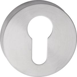 Cilinderrozet Rond Mat RVS - MD 0104