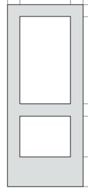 Skantrae Board SKB 280 VS Glasopeningen