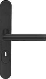 Veiligheidsbeslag Ovaal Mat Zwart Kruk/Kruk - ID 1501