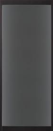 Skantrae SlimSeries Ultra Zwarte Binnendeur SSL 4100 rookglas