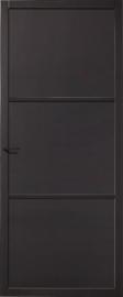 Skantrae SlimSeries Zwarte Binnendeur SSL 4083 paneeldeur