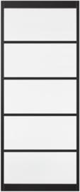 Skantrae SlimSeries Ultra Zwarte Binnendeur SSL 4105  Blank Glas