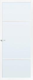 Skantrae SlimSeries witte Binnendeur SSL 4406 Nevelglas