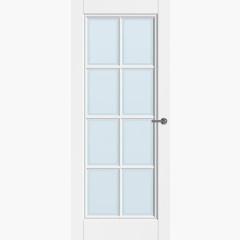 CanDo binnendeur Traditional Kampen met blank facetglas