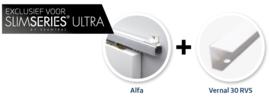 Schuifdeur pakket Slimserie ULTRA hang en sluit 539 - Deurgreep Vernal 30