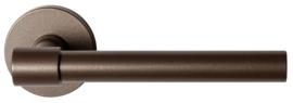 Hipi Deux Bronze blend deurkruk op ronde rozet