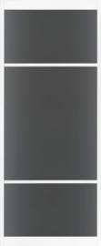 Skantrae SlimSeries Ultra Witte Binnendeur SSL 4206 Rook glas