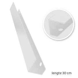 TAATS deur pakket Slimserie ULTRA hang en sluit 608 - Deurgreep Vernal 30 mat wit