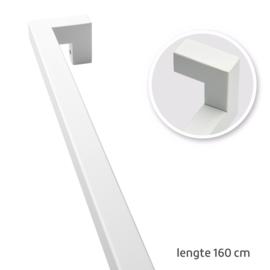 TAATS deur pakket Slimserie ULTRA hang en sluit 612 - Deurgreep Tupelo mat wit 160 cm