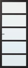 Skantrae SlimSeries Zwarte Binnendeur SSL 4025 Nevelglas