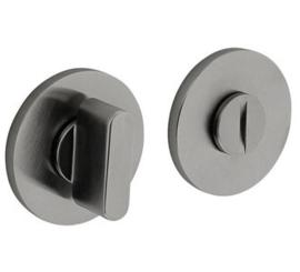 Olivari rozet rond toiletgarnituur RVS mat titaan PVD