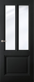 Classic Black Aerdenhout - Blank Facetglas