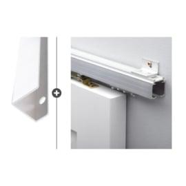 Schuifdeur pakket SlimSeries hang- en sluitwerk 539 - Deurgreep Vernal 30cm RVS