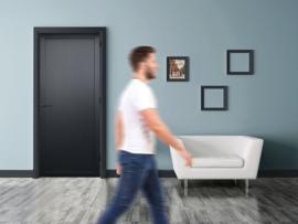 Nero Legno FOGGIA zwarte binnendeur