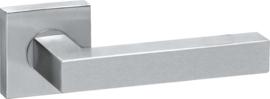 Deurkruk Vierkant Mat RVS - ID 0202