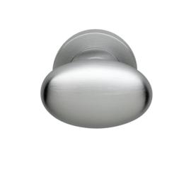 Skantrae deurknop Oval mat chroom