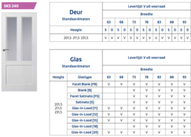 Skantrae Original SKS 240 Glas in lood 11