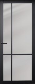 Nero Legno ASTI Tinto zwarte binnendeur getint glas