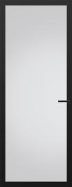 Svedex zwarte binnendeur met glas NDB904 Nova