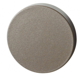 blinde rozet 50x8 mm Mocca blend