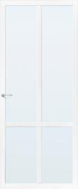 Skantrae SlimSeries witte Binnendeur SSL 4428 blank glas