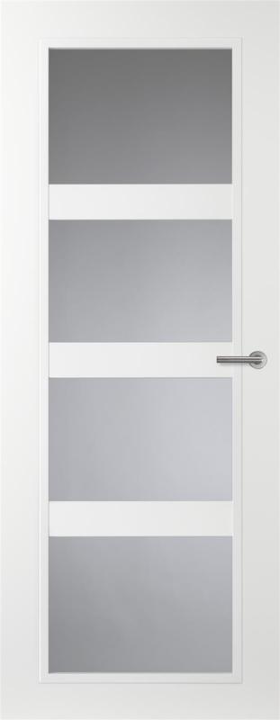 Svedex binnendeur Casual CN08 gezandstraald glas met blanke rand