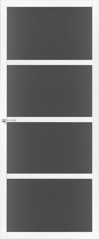 Skantrae SlimSeries witte Binnendeur SSL 4424 Rookglas