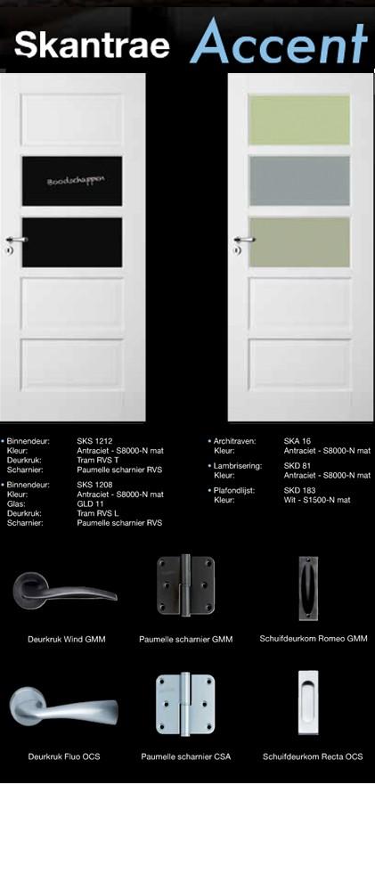 accent deur voorbeeld