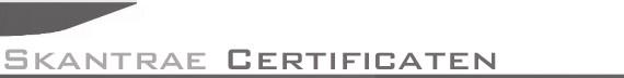 Certificaten Deuren Skantrae