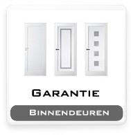 Garantie Binnendeuren