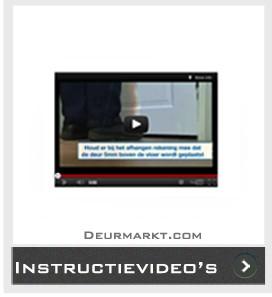 Instructievideo's Skantrae Deur afhangen Glas plaatsen