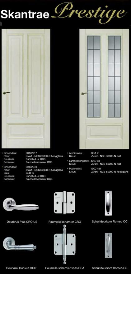 Prestige deur voorbeeld