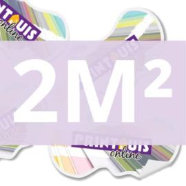 Stickers vrije vorm 2 m2