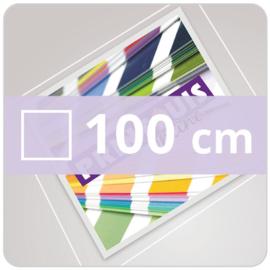 Vloersticker INDOOR vierkant - 100 cm