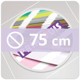 Vloersticker INDOOR rond - 75 cm