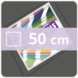 Vloersticker OUTDOOR vierkant - 50 cm