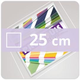 Vloersticker INDOOR vierkant - 25 cm