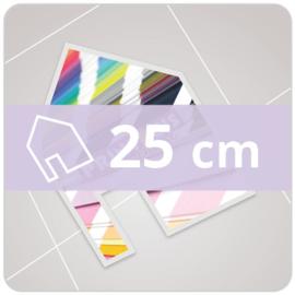 Vloersticker INDOOR vrije vorm - 25 cm