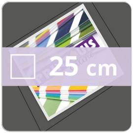 Vloersticker OUTDOOR vierkant - 25 cm